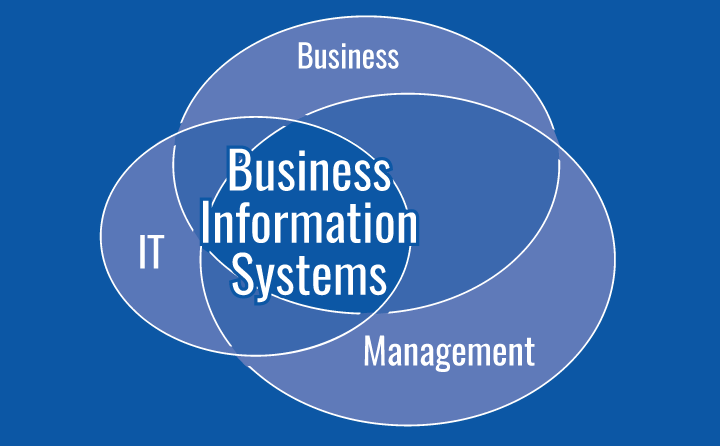 Infographic: Business + IT + Management = Business Information Systems