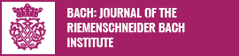 Bach: Journal of the Riemenschneider Institute button