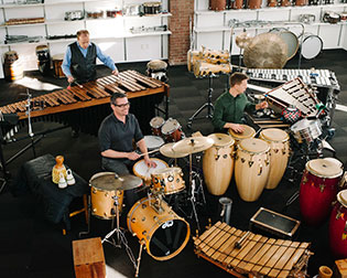 Africa→West Percussion Trio