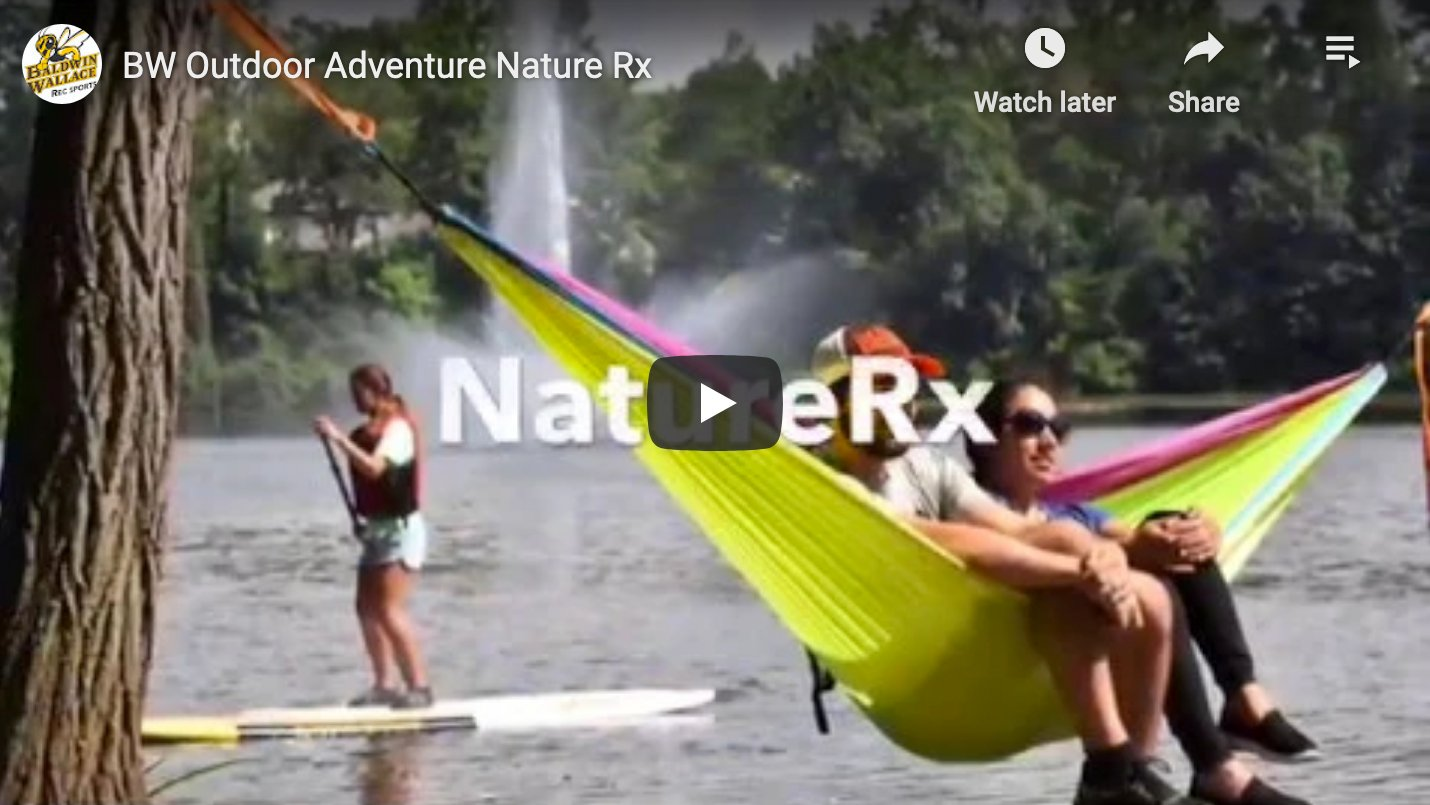 Screenshot from BW Outdoor Adventure Nature Rx