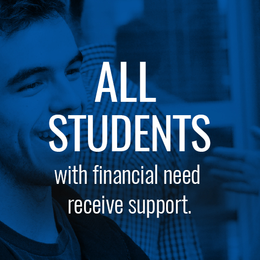 Powerblock: All students with financial need receive support