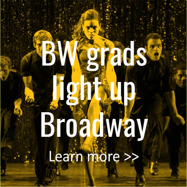 BW Grads Light Up Broadway