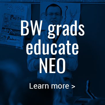 BW grads educate NEO: Click to learn more