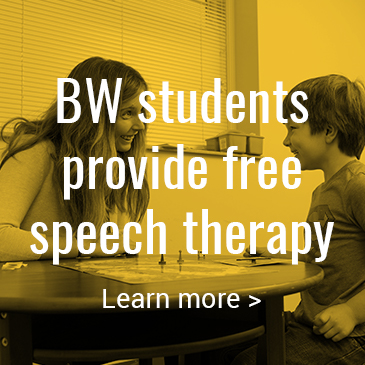 BW students provide free speech therapy: Click to learn more