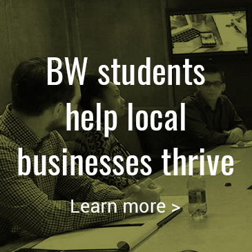 BW students help local businesses thrive: Click to learn more