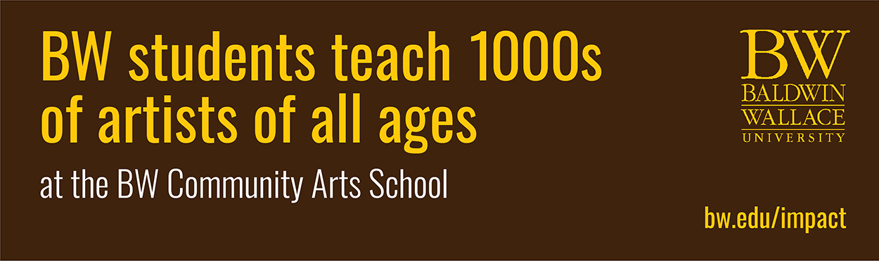 BW students teach 1000s of artists of all ages at the BW Community Arts School