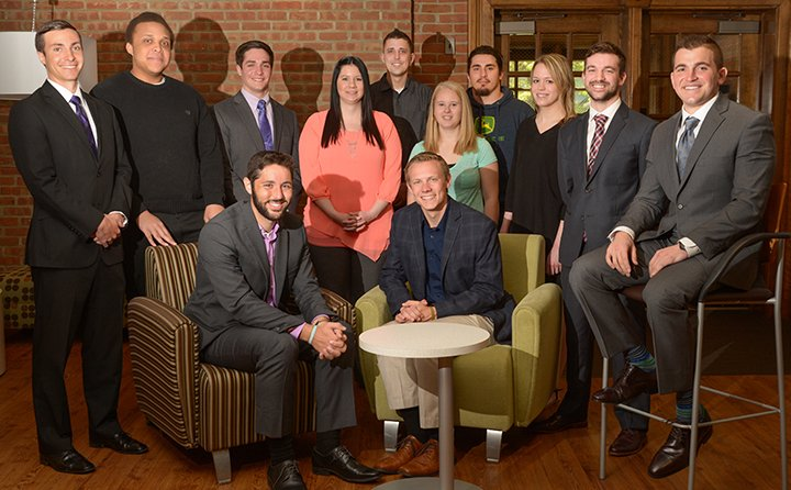 The first cohort of the One-Year MBA