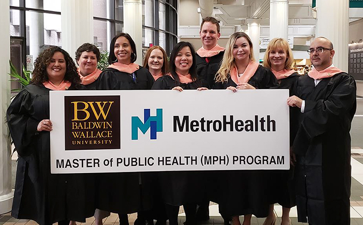 Photo of Master of Public Health graduates