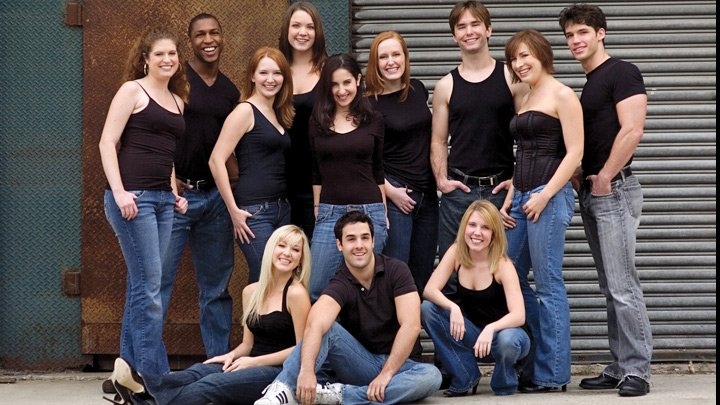 2008 Music Theater Seniors poster