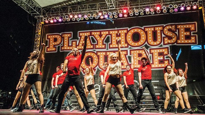 Music Theater playhouse square performance live shot