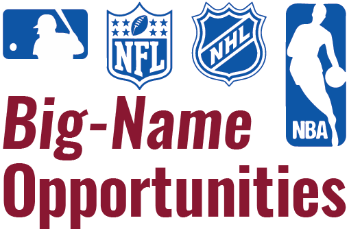 Big-Name Opportunities for Sport Management Students and Alumni