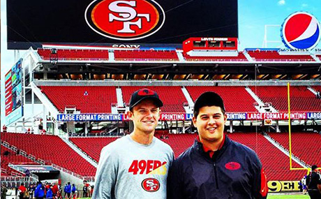 49ers-spencer in stadium-preview