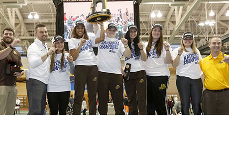 Baldwin Wallace National Champions Women Indoor Track Team
