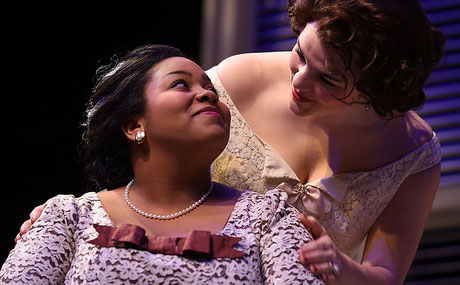 BW students Courtney Horne & Maggie Williams in CAT ON A HOT TIN ROOF by Tennessee Williams