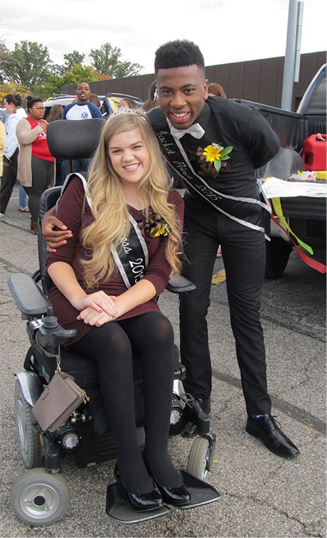 2015 Jacket Princess and Prince, Sarah Bellish and Orlando Hopson