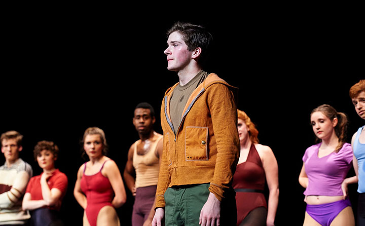 Colton Ryan in A Chorus Line