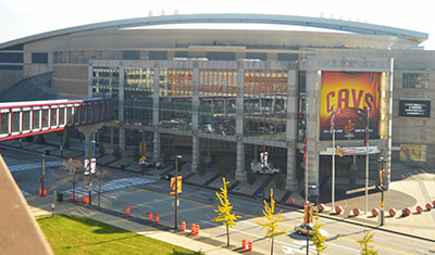 Quicken Loands Arena in Cleveland