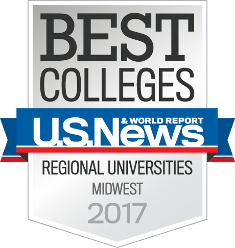 US News Best Colleges in the Midwest badge