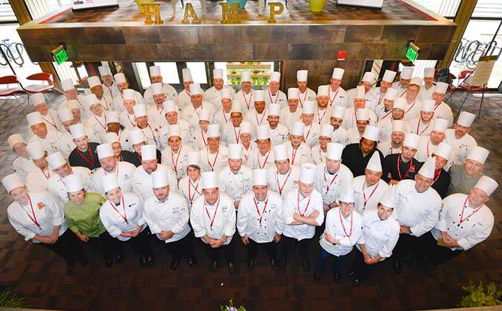 BW's Julia Fathauer joins chefs from across the country at the 22nd Annual World Chef Culinary Conference at UMass