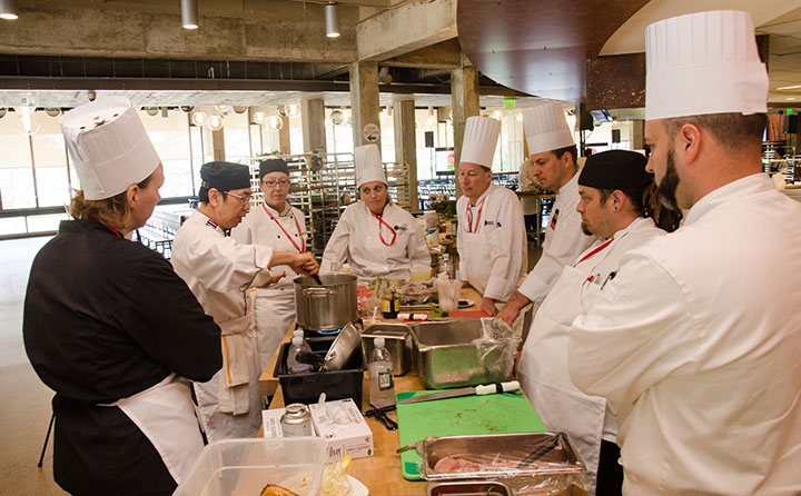 Chef Julia Fathauer learns from top chefs at Culinary Conference