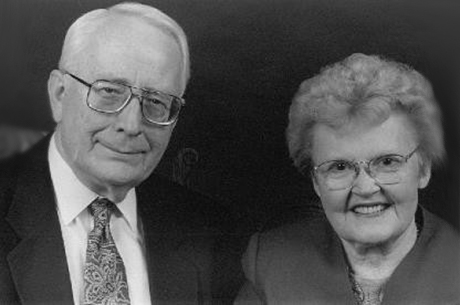 The late David and Frances Brain