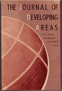 Journal of Developing Areas cover
