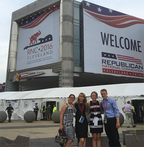 BW students in Cleveland for the RNC