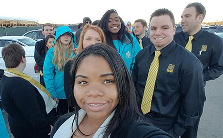 BW students in uniform to work Super Bowl 50