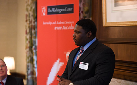 BW student Jerald Goins speaks about The Washington Center RNC exprience