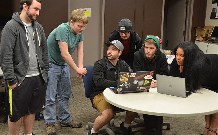 BW's national championship cyber defense team at work