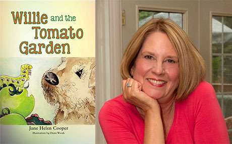 Jane Helen Cooper and her book Willie and the Tomato Garden
