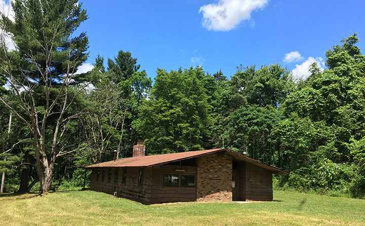Chagrin Valley Cabin will serve as the classroom and laboratory for the BW field station.