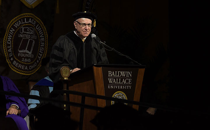 Fall 2017 commencement speaker Rick Chiricosta, Medical Mutual CEO
