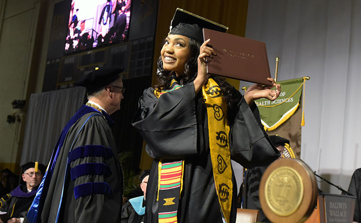 Fall 2017 Commencement at Baldwin Wallace University