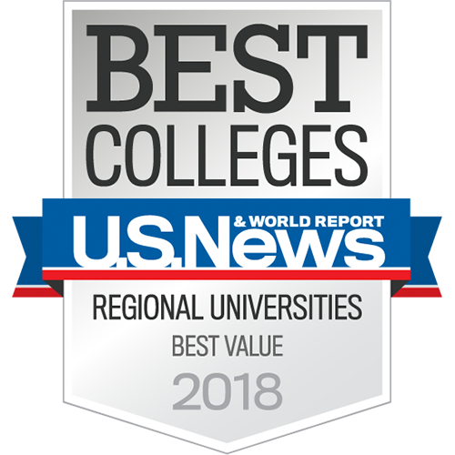 U.S. News & World Report Best Colleges Regional Universities Best Value 2018 Badge