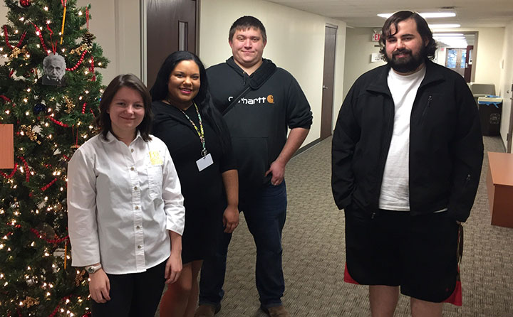 Members of the BW NCL Cyber Team