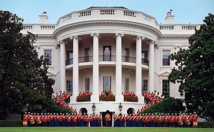 The Marine Band at the White House