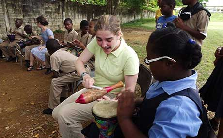 Music Therapy Majors Complete Field Study Project in Jamaica