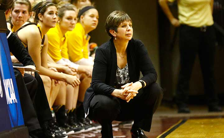 BW Women's Basketball Coach Cheri Harrer
