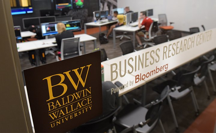 Baldwin Wallace University's new Business Research Center
