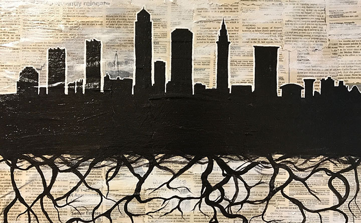 """Cleveland, Ohio"" by Angeline Redman"