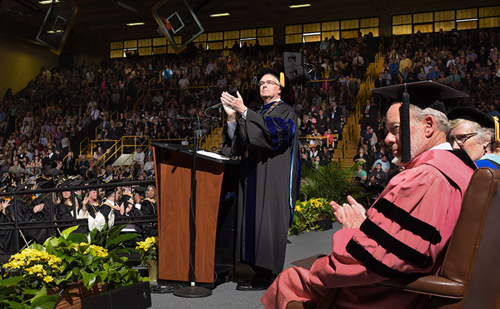 Baldwin Wallace University spring 2017 commencement
