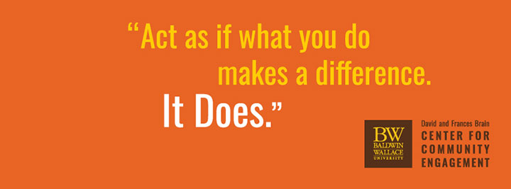 Act as if what you do will make a difference. It does.