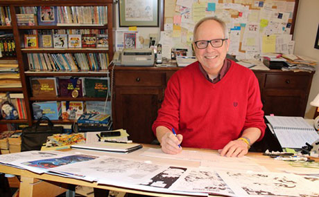American comic strip creator Tom Batiuk