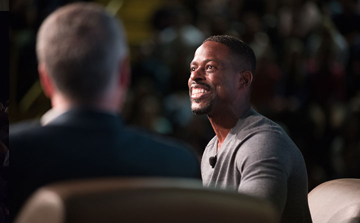 Sterling K. Brown at Baldwin Wallace University