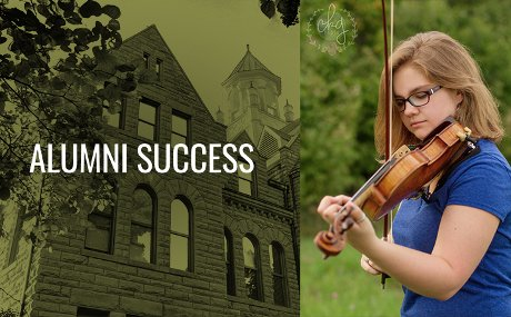 photo of conservatory of music alumna Meredith Hopkins