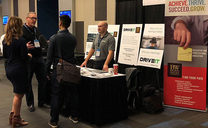 BW and DriveIT at the Blockland Solutions Conference in Cleveland