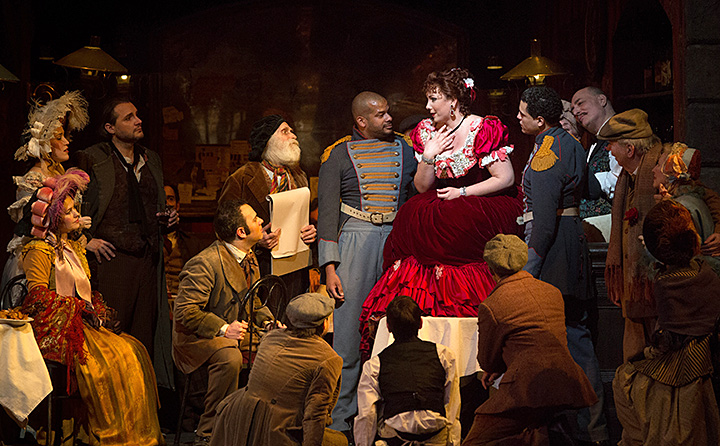 "Photo of alumna Jennifer Rowley in ""La Boheme"""
