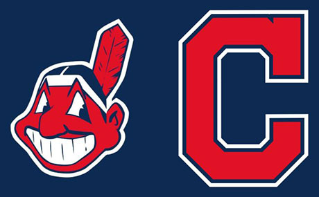accb9bee9 BW CRI NE Cleveland Indians logos side-by-side