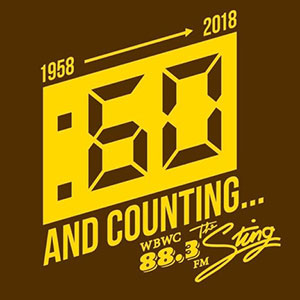 WBWC 60 and counting logo